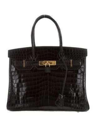Crocodile Birkin 30