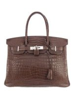 Crocodile Birkin 30 Bag Porosus By Hermès