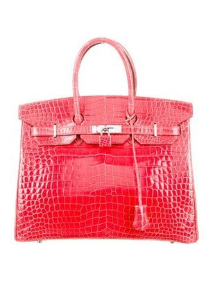Crocodile Birkin 35