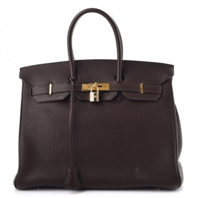 Birkin 35 Chocolate
