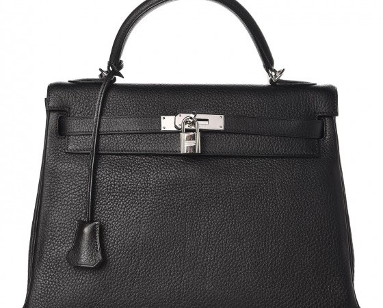 Kelly Bag 32 Hermes Togo Retourne