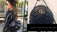 GUCCI MARMONT LEATHER BACKPACK REVIEW