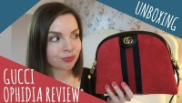 GUCCI OPHIDIA RED SHOULDER BAG REVIEW