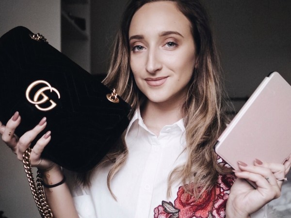 WHATS IN MY GUCCI MARMONT BAG + MINI REVIEW