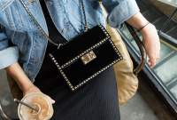 If You're Looking for a Velvet Bag This Fall, Look No Further Than Valentino