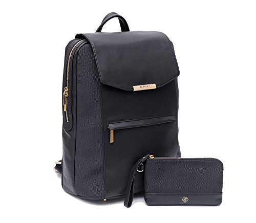 Valletta Leather Laptop Backpack for Women