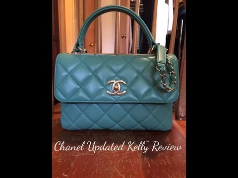 Chanel Kelly Bag Review!!