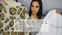 Fall Haul Part 1+ New Teddy Blake Handbag Reveal | elle be |