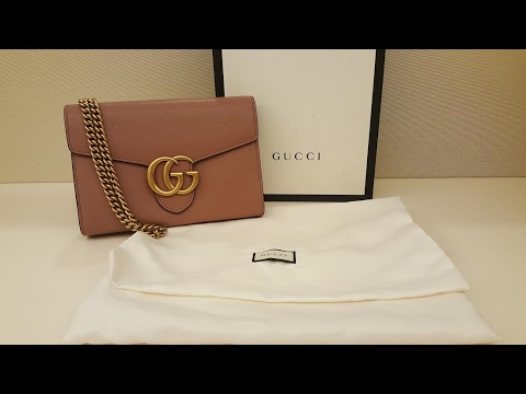 Gucci Marmont Wallet on Chain Review