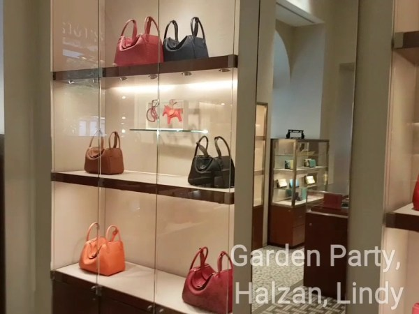 HERMES COLORS  - EVELYNE, GARDEN PARTY, HALZAN, LINDY, JYPSIERE, MEN BAGS Spotted today On Display