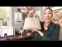 LOUIS VUITTON CAPUCINES BB | FIRST IMPRESSIONS