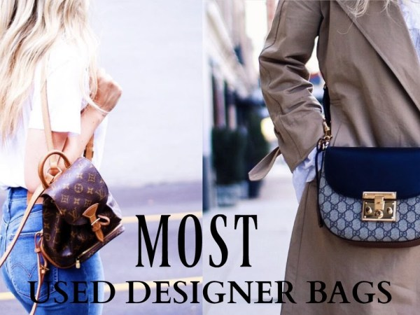 TOP 5 MOST USED DESIGNER BAGS!