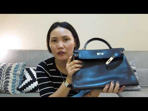 What fits in my Hermes Kelly 32 bag with an insert in
