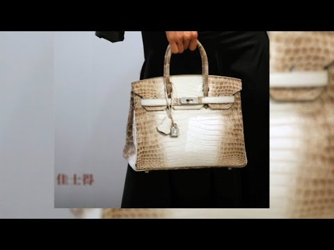 World's most expensive handbag ever sold