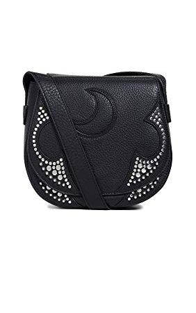 Alexander McQueen Women's Mini Satchel Black Bag