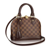 Authentic Louis Vuitton Damier Alma Cross Body Handbag