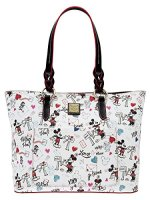 Disney Dooney And Bourke Mickey & Minnie Tote Shopper Bag