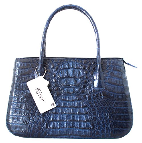 Authentic Crocodile Skin Tote Bag Strap Handbag