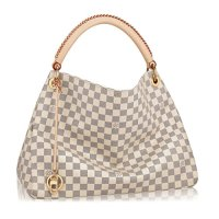 Louis Vuitton Damier Canvas Handbag Made in France