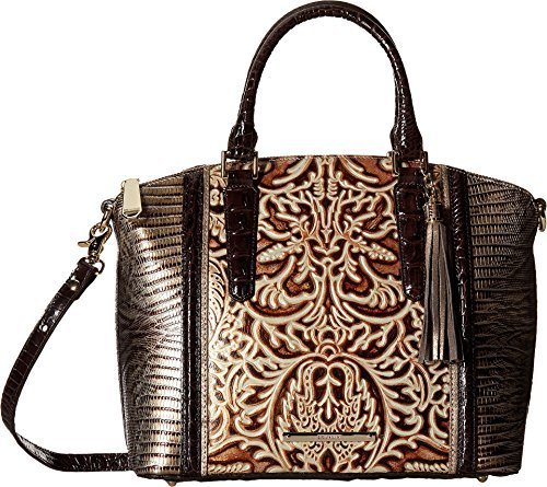 Brahmin Women's Duxbury Satchel Gold Bag