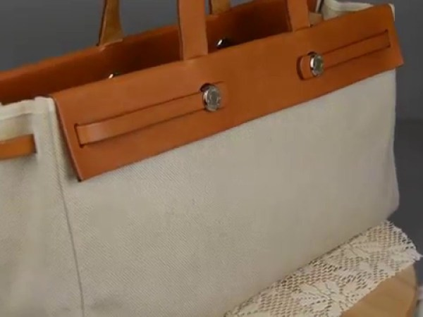 HERMES Her Bag Cabas Tote Shoulder Bag Review