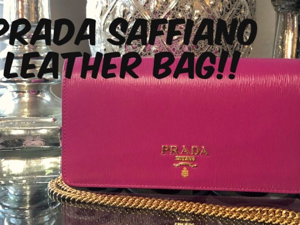Prada Saffiano Wallet On Chain Review!!!