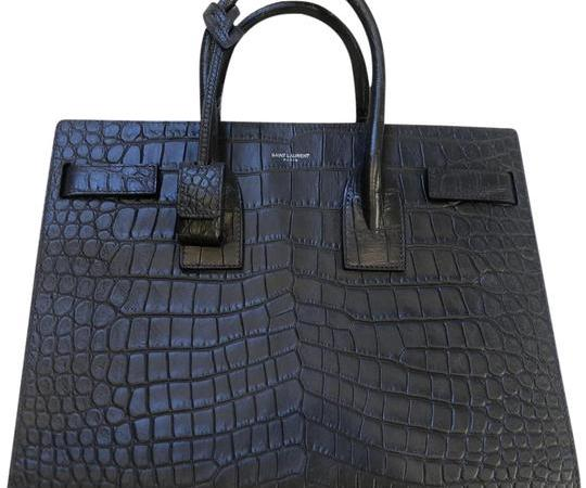 Saint Laurent Crocodile Bag Embossed