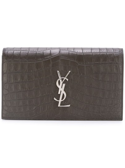 Saint Laurent Ysl Women's Crocodile Bag Embossed
