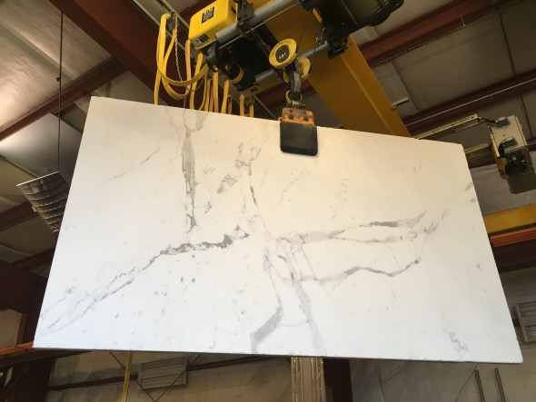 Statuario Marble 1 and 5-8 inch thick