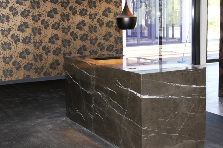 Pietra Grey marble/limestone Installed – CROCODILE ROCKS