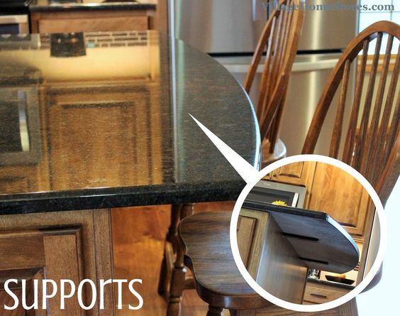 hidden discreet steel L bracket support