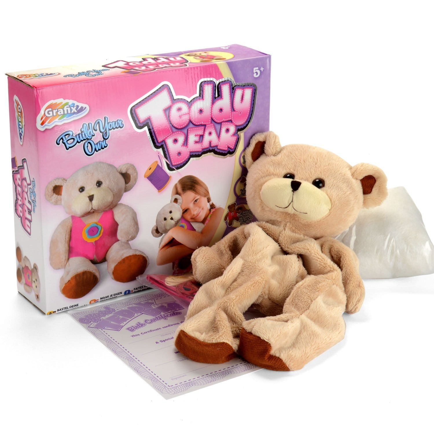 Make Your Own Teddy Create Build A Bear Set  Crocodile Stores