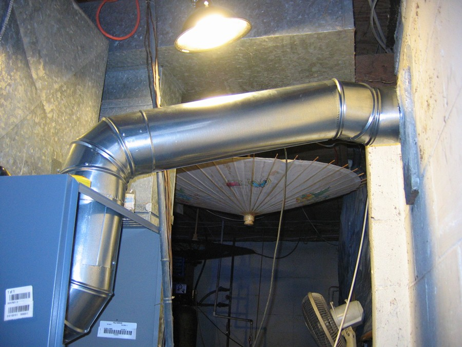 Oil Boiler Flue Pipe