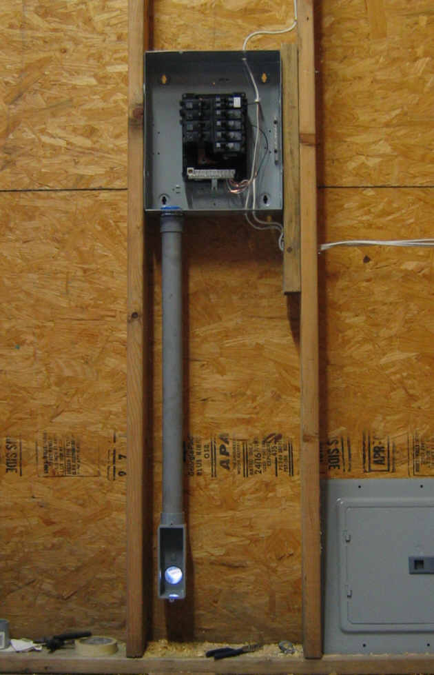 To Wire A 100 Sub Panel Diagram On Underground Pvc Electrical Wiring