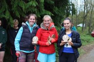 2019 Winning Womens Team - Ludlow Runners