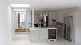 Leppoc Road, SW4. Kitchen 1