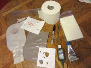 Ostomy Travel Kit