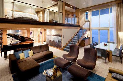 6 suites et cabines de croisire grand luxe qui vont vous tonner