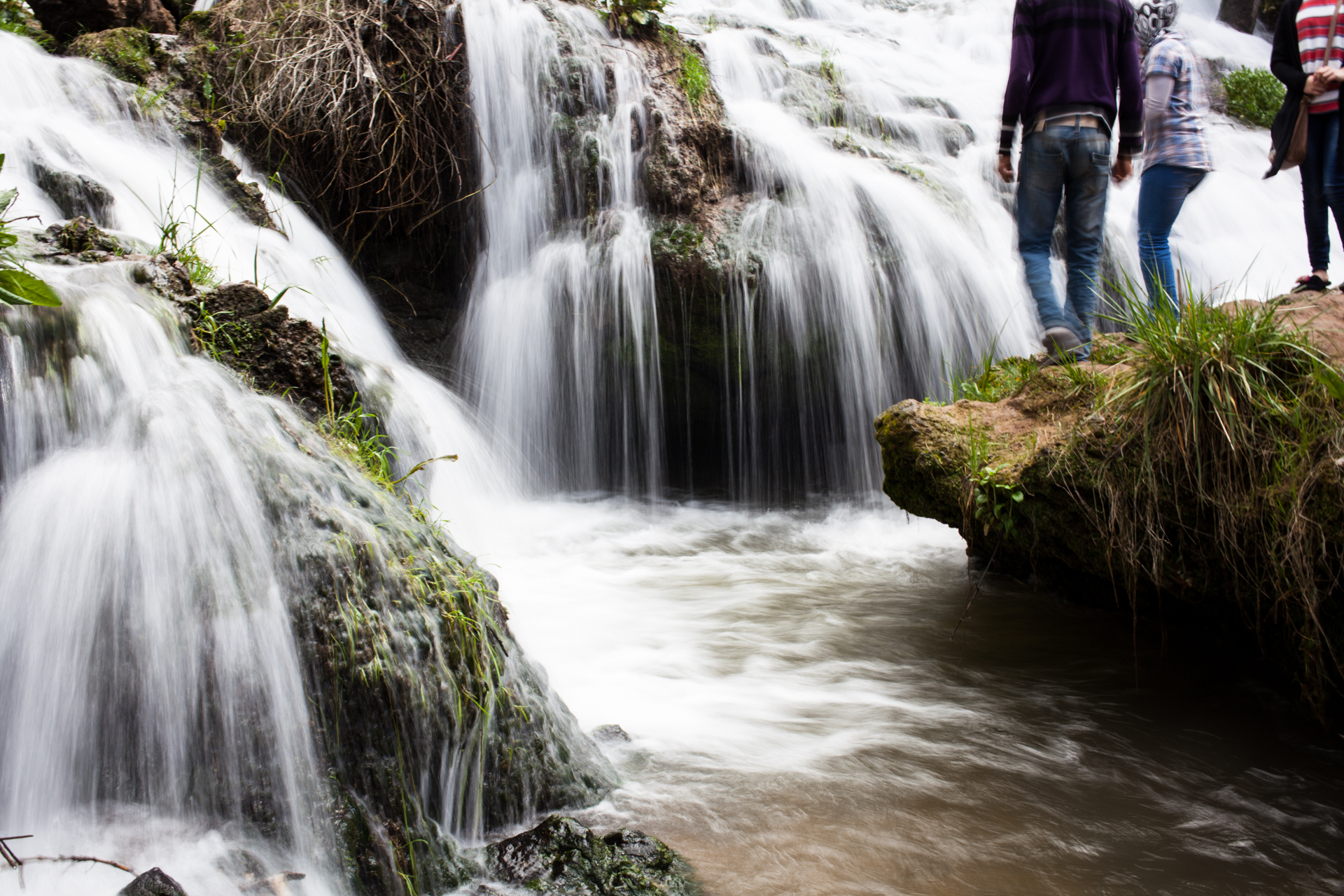 The waterfalls of Aïn Vidane (may I have not written it correctly....)