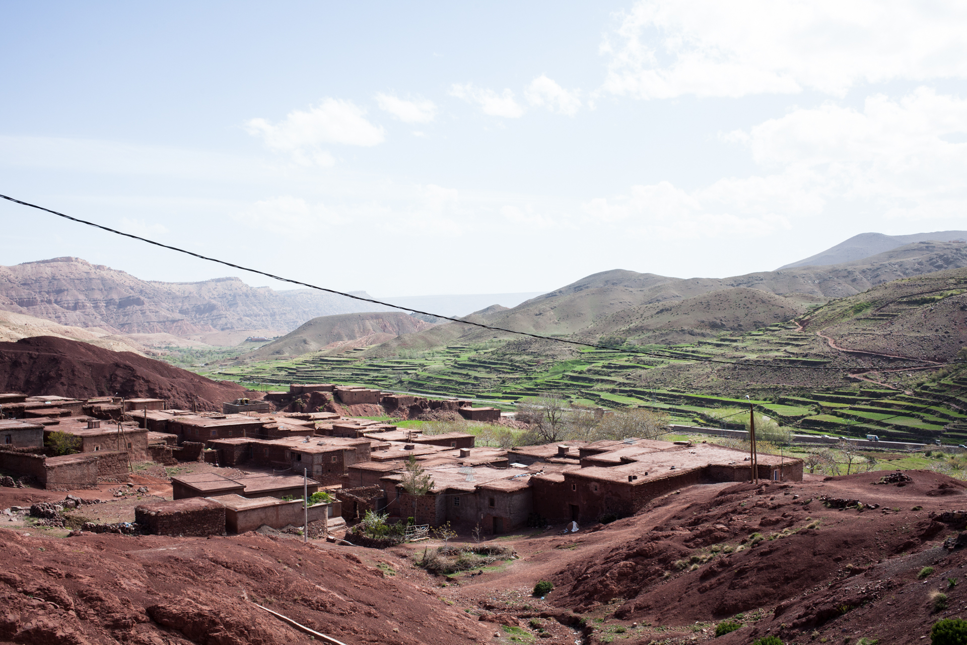 Crossing the Atlas Mountains