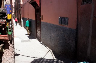In the medina of Marrakesh