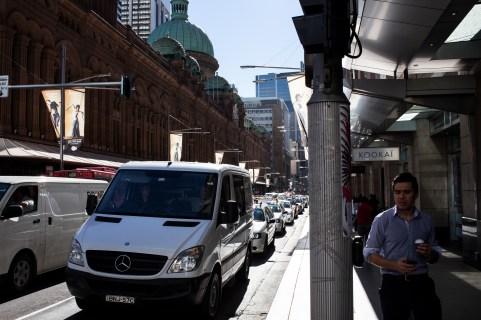 Downtown Sydney.