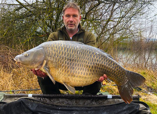 48lb Torute Common carp