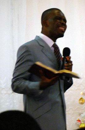 mon frère et mon ami, le pasteur Patrick Yoro
