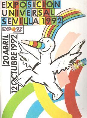 Cartel Curro Expo 92