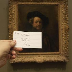 Autorretrato Rembrandt