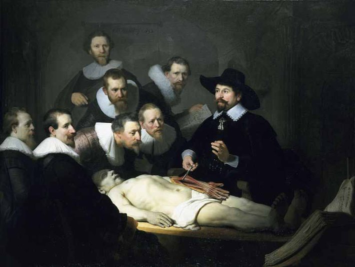 Lección de anatomía del Dr. Tulp - Rembrandt