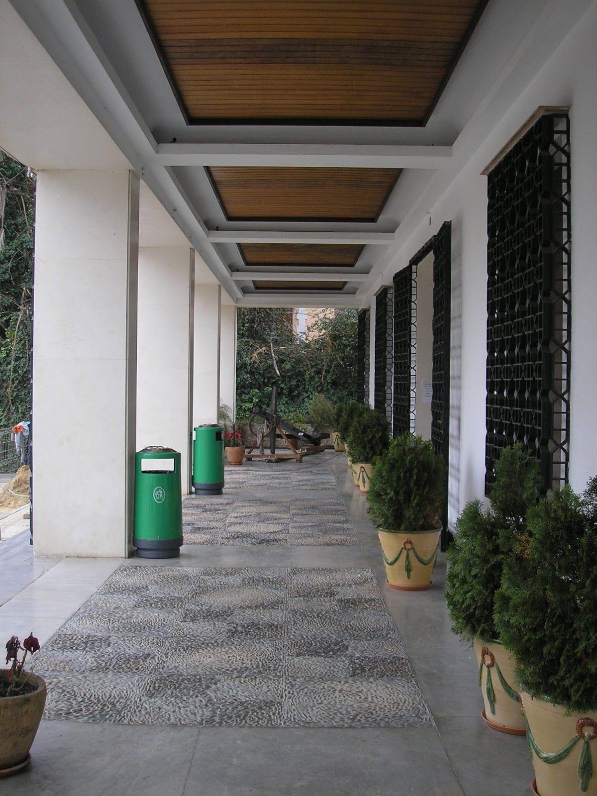 Museo Provincial de Huelva.Entrada