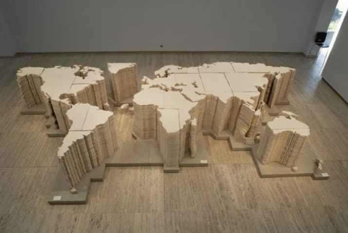 World Map - Bienal de Sydney