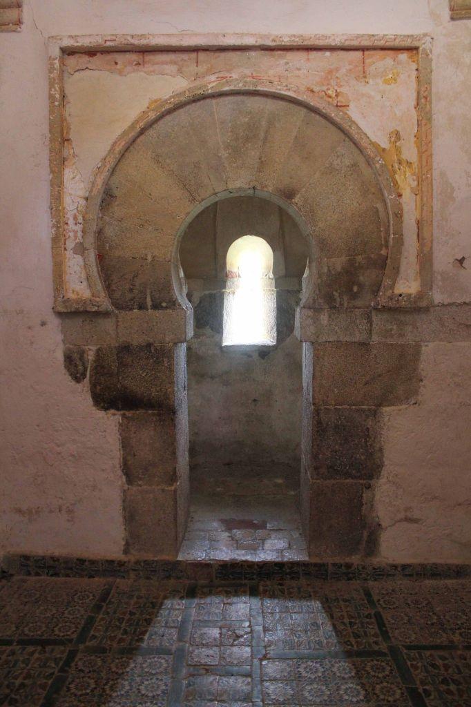 Capilla de San Miguel (interior) - Monasterio de San Salvador